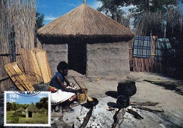 Namibia - Huts In Caprivi - Namibia