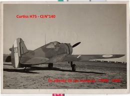 Photo Armée De L'air France Avion Curtiss 1939 -  1940 Avions - Aviazione