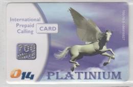 ISRAEL 2009 014 PLATINUM CARD 700 UNITS - Israel