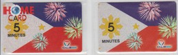 ISRAEL 2006 013 BARAK HOME CARD 5 MINUTES 2 CARDS - Israel