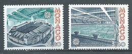 Monaco YT N°1565/1566 Europa 1987 Architecture Moderne Neuf ** - Europa-CEPT