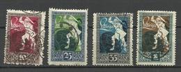 LATVIA Lettland 1919 Michel 36 - 39 O - Lettland