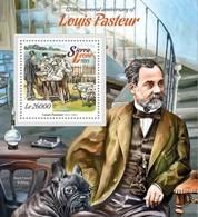 Sierra Leone 2015. [srl15110] Louis Pasteur (s\s+block) - Louis Pasteur