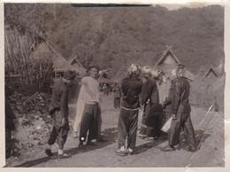 LAOS - Photographie Danse Locale Des PHU NOI Archive Du Commandant Panquet Vème Territoire Militaire Indochine - Personnes Anonymes