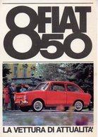 2 CP MOTOR CARS - AUTOMOBILI - FIAT 850 - FIAT 1100 - N 077 - 078 - Cartoline