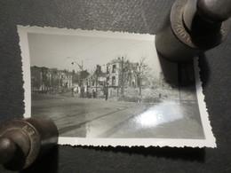 Le Havre - Photo Originale - Carrefour Bld De Strasbourg - Thiers   - Bombardement 5 Septembre 1944 - - Lieux