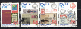 ITALIA - 1997 - LETTERATURA FILATELICA, AEROFILATELIA, FILATELIA TEMATICA, STORIA POSTALE - USATI - 1991-00: Usados