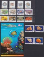"TAIWAN 1995 - 2007, ""in Water Living Animals"" (II), Unmounted Mint - 1945-... República De China"
