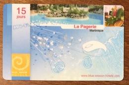 MARTINIQUE LA PAGERIE CARTE PASSMAN 15 JOURS INTERNET PRÉPAYÉE PREPAID PAS TÉLÉCARTE PHONECARD - Antillen (Frans)