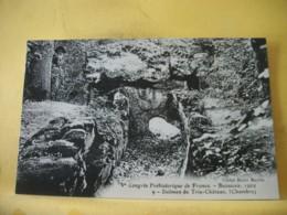 60 7972 CPA - 60 Ve CONGRES PREHISTORIQUE. BEAUVAIS. 1909. DOLMEN DE TRIE CHATEAU (CHAMBRE). - France