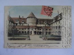CPA 27 GISORS Ancien Couvent Des Carmélites    1904 Dos Simple  TBE Le Timbre A été Recollé En Façade - Gisors