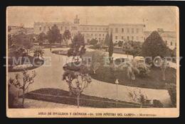Uruguay Postcard Cpa AK - Asilo De Invalidos Cronicos Piñeiro Del Campo  W6-019 - Uruguay