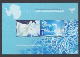 AUSTRALIE AAT 2009 BLOC Pôles Et Glaciers Neuf ** Mnh - Territoire Antarctique Australien (AAT)