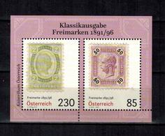 ÖSTERREICH , Austria - 2020 - ** , MNH , Postfrisch , Mi.Nr. Block 112  ( 3508 - 3509 ) - 2011-... Unused Stamps