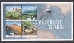 AUSTRALIE AAT 2010 BLOC Macquarie Island Neuf ** Mnh - Territoire Antarctique Australien (AAT)