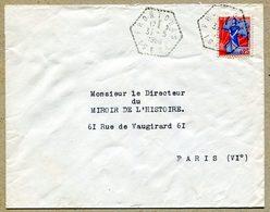 FRONTONAS ISERE Cachet Hexagonal 1960 - 1921-1960: Modern Period