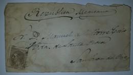 O) 1879 CIRCA - SPAIN, KING ALFONSO XII 40c, TO MEXICO SAN JUAN DEL RIO - 1873 1. Republik