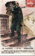 CPA NEUVE - AFFRANCHISSEMENT AVEC DATE ILLISIBLE - PAUL DEROULEDE ET LA REVANCHE SUR L'ALLEMAGNE - - Patriotic