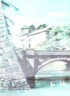 Double Bridge Emperor's Palace  TOKYO - CARTE 3 D - 3 DIMENSION POSTCARD - Tokyo