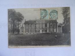 CPA 27  CHATEAU De Mouflaines 1905 Animée  TBE - Unclassified