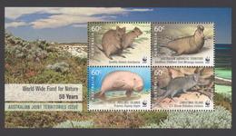 AUSTRALIE AAT 2011 BLOC WWF 50 Années Australie Neuf ** Mnh - Territoire Antarctique Australien (AAT)