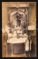 Uruguay Postcard Cpa AK - Altar O Retablo Virgen Del Carmen  Real Photo RPPC   W6-025 - Uruguay