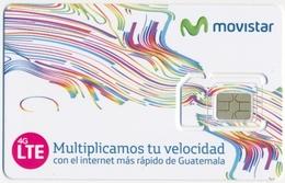 GUATEMALA MOVISTAR GSM (SIM) CARD MINT UNUSED - Guatemala