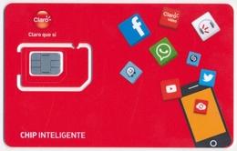 GUATEMALA CLARO GSM (SIM) CARD CHIP INTELIGENTE MINT UNUSED - Guatemala