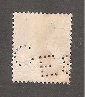 Perforé/perfin/lochung France No 111 E&C Louis Eschenauer - Perforés
