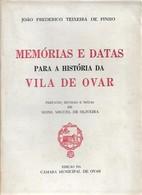Ovar - Memórias E Datas Para A História De Ovar. Aveiro (Livro Por Abrir) - Books, Magazines, Comics