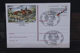 Sonderpostkarte: NAJUBRIA 83; PSo7; Sonderstempel Weil A. Rhein - Europa-CEPT