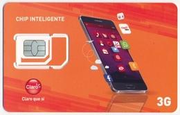GUATEMALA CLARO GSM (SIM) CARD CHIP INTELIGENTE SMART PHONE MINT UNUSED - Guatemala