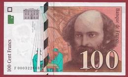 """100 Francs """"Cézanne"""" 1997 --TTB+--ALPH -F- Numéro .000322868---PREMIER MILLION - 1992-2000 Ultima Gama"""