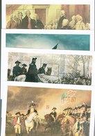 USA 4 HOJITAS GRAVADO BICENTENARIO REVOLUCION USA - Briefmarken