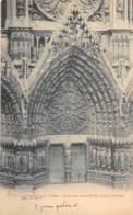 51 - Cathédrale De REIMS - Arcature Centrale Du Grand Portail - Reims