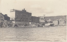 SANTA MARGHERITA LIGURE-GENOVA-HOTEL=MIRAMARE=-CARTOLINA VERA FOTO-VIAGGIATA NON VIAGGIATA (27-11-1911)-FOTO J.NEER - Genova (Genoa)