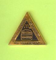 Pin's Mac Do McDonald's Pittsburgh M&J Management - 8V02 - McDonald's