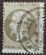 FRANCE 1862 - Canceled - YT 19 - 1c - 1862 Napoleon III
