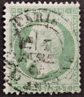FRANCE 1862 - Canceled - YT 20 - 5c - 1862 Napoleon III