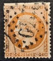 FRANCE 1862 - Canceled - YT 23b - 40c - 1862 Napoleon III