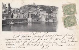 GAETA-LATINA-GOLFO-CARTOLINA VIAGGIATA IL 30-6-1901 - Latina