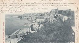 GAETA-LATINA-PANORAMA-CARTOLINA VIAGGIATA IL 10-9-1900 - Latina