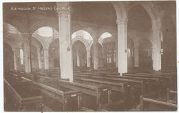 Abingdon, St. Helens Church - Inghilterra