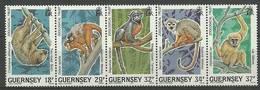 Guernsey 1989 Mi 465-469 MNH ( ZE3 GRNfun465-469 ) - Guernsey