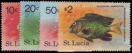 St Lucia 1978 Fishes Unmounted Mint. - St.Lucia (...-1978)