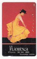 JAPON TELECARTE PEINTURE LA FLAMENCA DANSE - Peinture