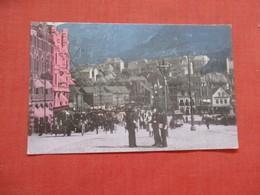 Market Street  Bergen Norway    Ref 4096 - Norvège