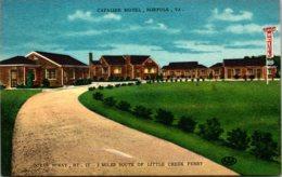 Virginia Norfolk The Cavalier Motel - Norfolk
