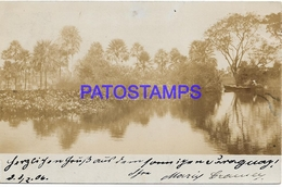 134158 PARAGUAY HELP VIEW PARTIAL CIRCULATED TO GERMANY  POSTAL POSTCARD - Paraguay