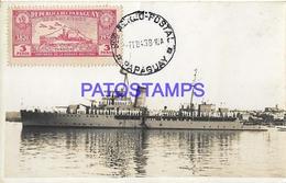 134162 PARAGUAY CAÑONERO DE LA ARMADA SHIP POSTAL POSTCARD - Paraguay